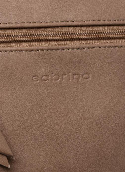 Sacs pochettes Sabrina Capucine Marron vue gauche