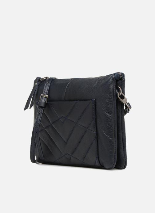Mini Bags Sabrina Capucine blau schuhe getragen