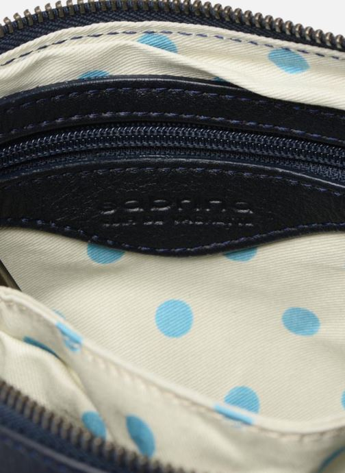 Sacs pochettes Sabrina Capucine Bleu vue derrière
