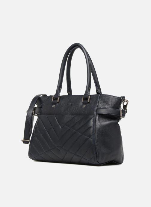 Handtaschen Sabrina Cécile blau schuhe getragen