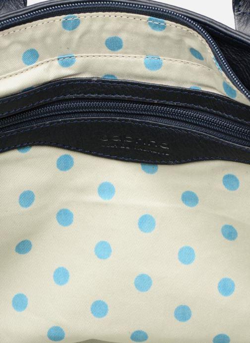 Handtaschen Sabrina Cécile blau ansicht von hinten