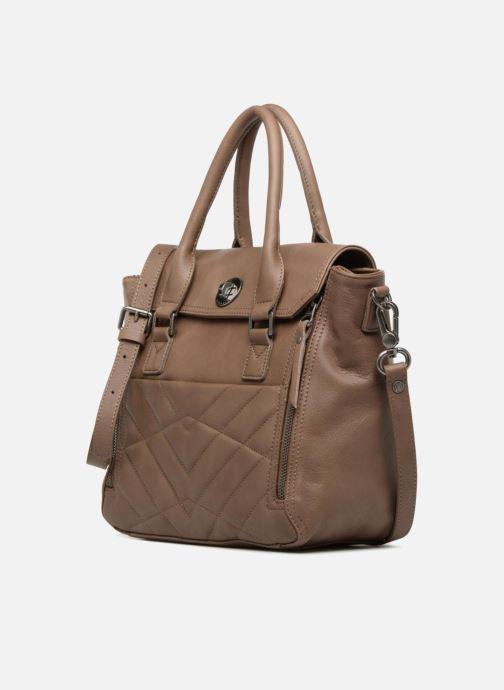 Handtaschen Sabrina Charline M braun schuhe getragen