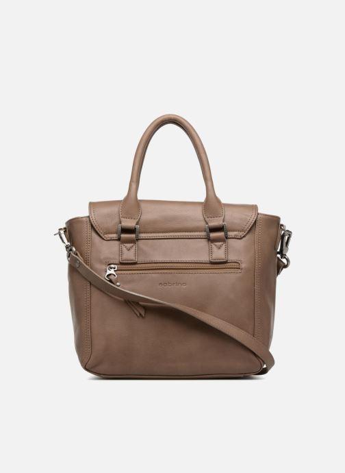 Handtaschen Sabrina Charline M braun ansicht von vorne