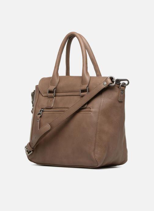 Handtaschen Sabrina Charline M braun ansicht von rechts