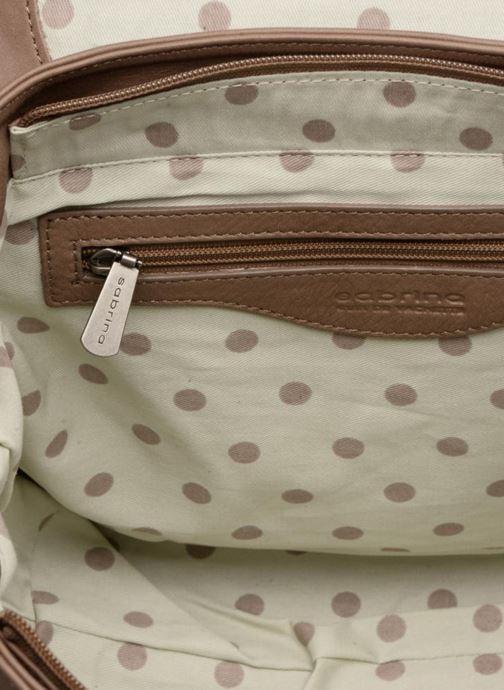 Handtaschen Sabrina Charline M braun ansicht von hinten