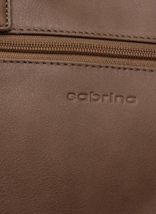 Handtaschen Sabrina Charline M braun ansicht von links