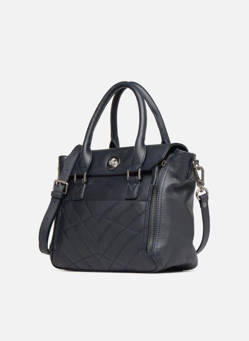 Handtaschen Sabrina Charline M blau schuhe getragen