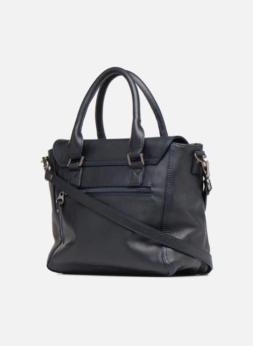 Handtaschen Sabrina Charline M blau ansicht von rechts