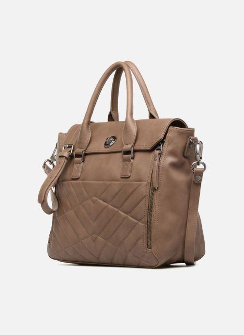 Handtaschen Sabrina Charlotte M braun schuhe getragen