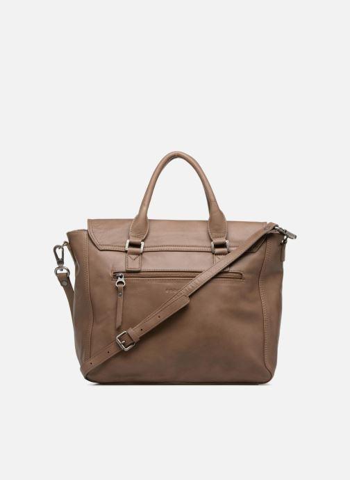 Handtaschen Sabrina Charlotte M braun ansicht von vorne
