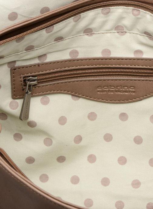 Handtaschen Sabrina Charlotte M braun ansicht von hinten