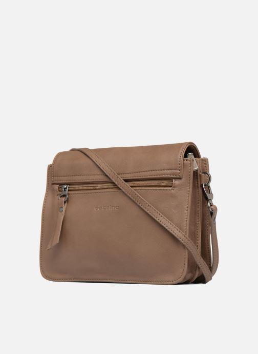 Mini Bags Sabrina Christelle braun ansicht von rechts