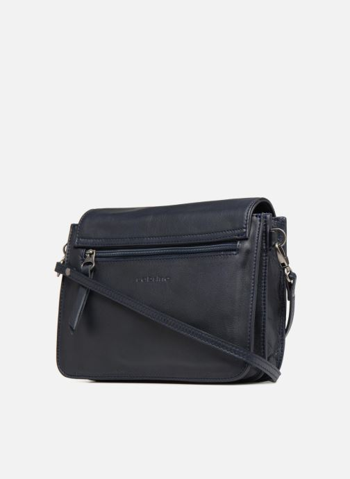 Clutch bags Sabrina Christelle Blue view from the right