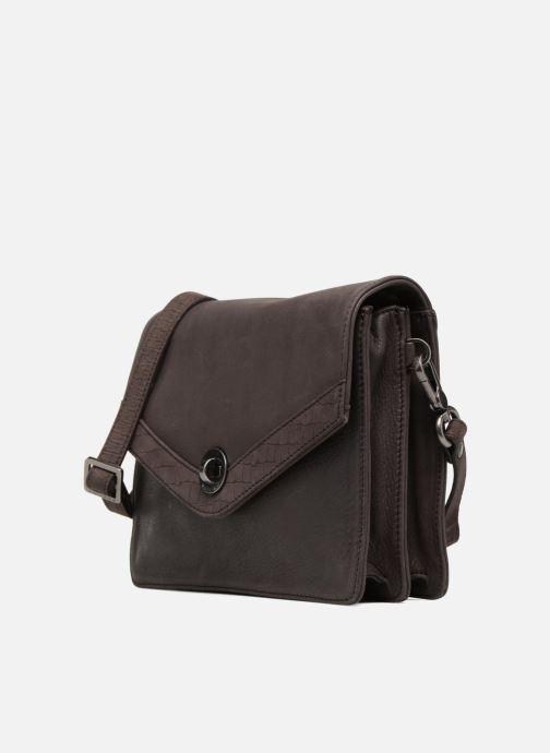 Mini Bags Sabrina Faustine croco grau schuhe getragen