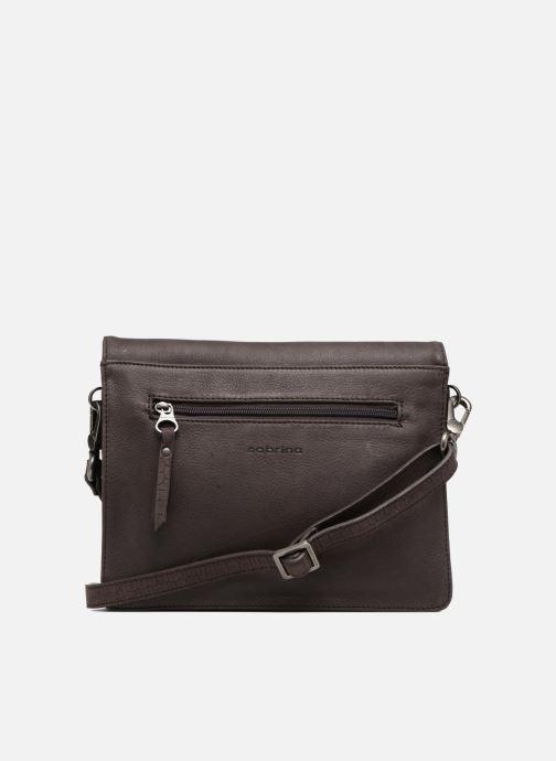 Mini Bags Sabrina Faustine croco grau ansicht von vorne