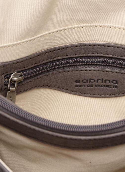 Mini Bags Sabrina Faustine croco grau ansicht von hinten