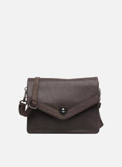 Clutch bags Sabrina Faustine croco Grey detailed view/ Pair view