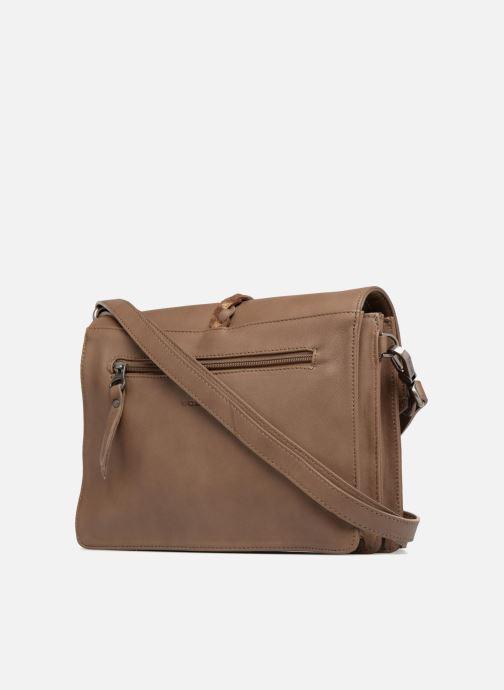 Handtaschen Sabrina Flavie braun ansicht von rechts