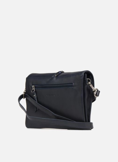 Handbags Sabrina Flavie Blue view from the right