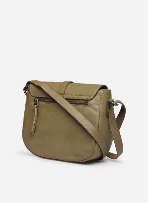 Handtaschen Sabrina Flavie grün ansicht von rechts