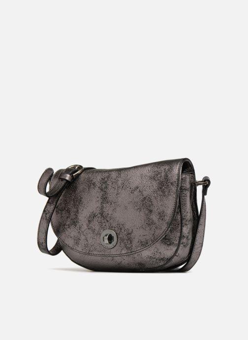 Handtaschen Sabrina Flora collector grau schuhe getragen