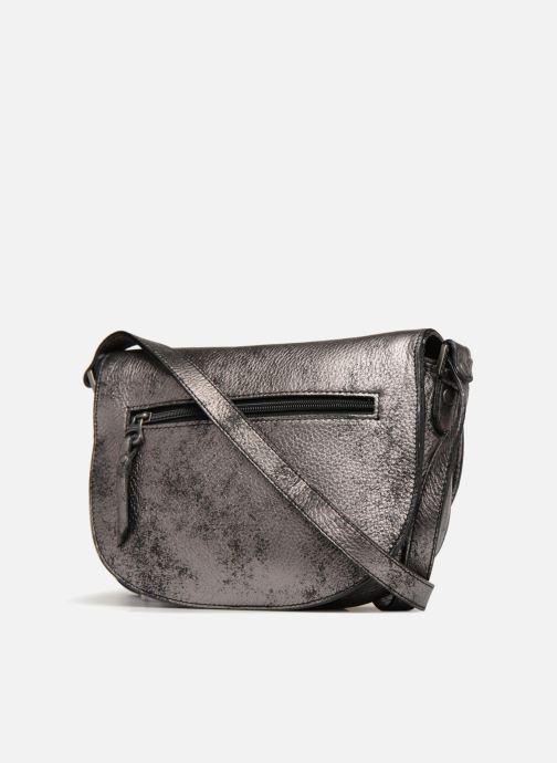 Handtaschen Sabrina Flora collector grau ansicht von rechts