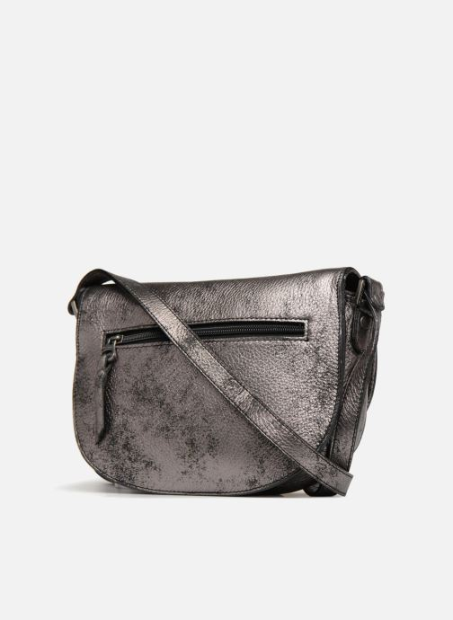 Handbags Sabrina Flora collector Grey view from the right