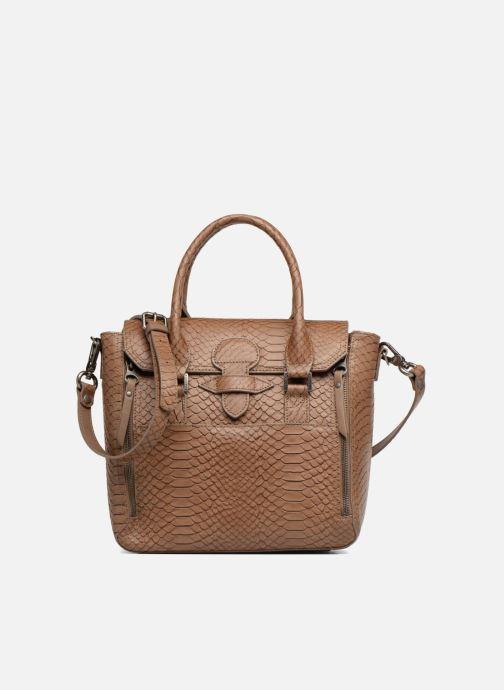 Handtaschen Sabrina Ilona croco braun detaillierte ansicht/modell