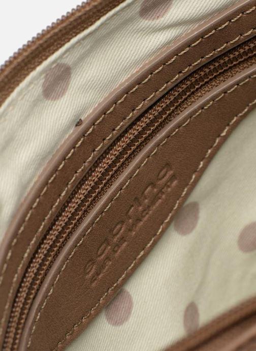 Clutch bags Sabrina Mélodie Brown back view