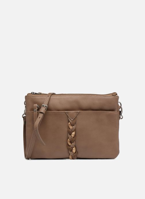 Clutch bags Sabrina Mélodie Brown detailed view/ Pair view