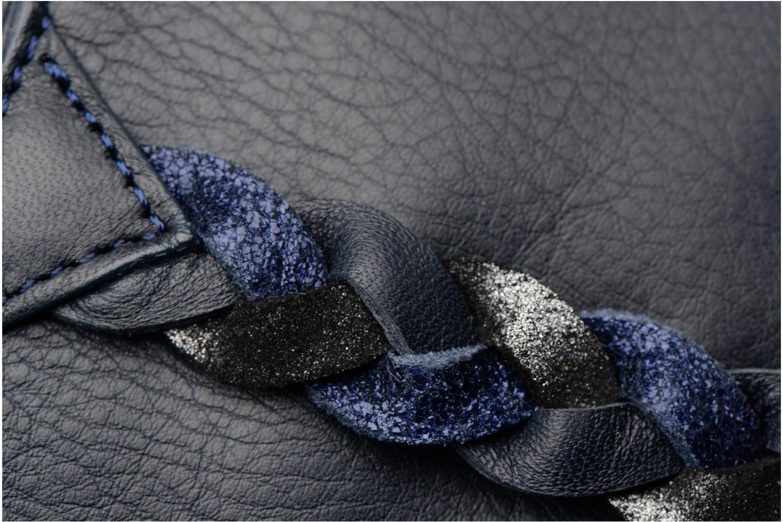 Sacs pochettes Sabrina Mélodie Bleu vue gauche