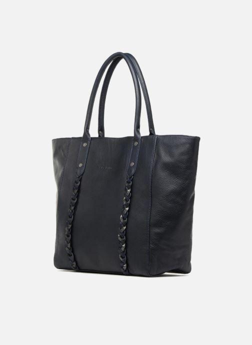 Handtaschen Sabrina Octavie blau schuhe getragen