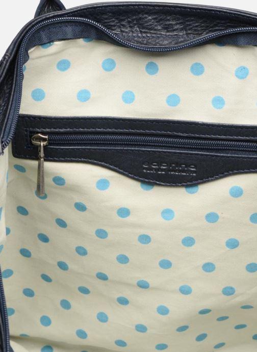 Handtaschen Sabrina Octavie blau ansicht von links