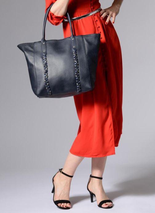 Handtaschen Sabrina Octavie blau ansicht von oben