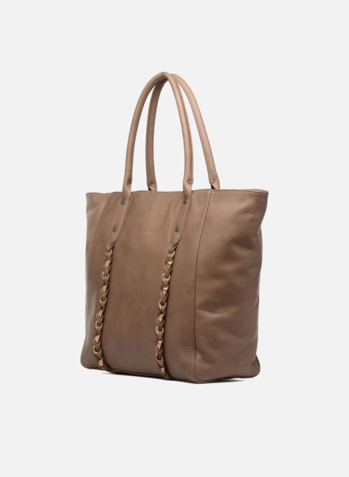 Handtaschen Sabrina Octavie braun schuhe getragen