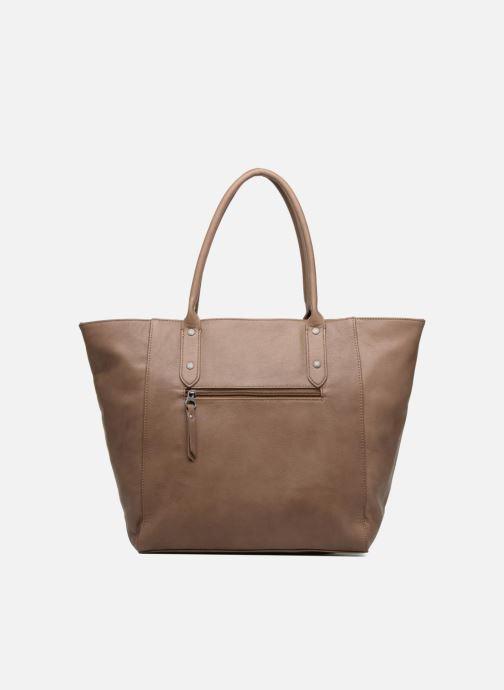 Handbags Sabrina Octavie Brown front view