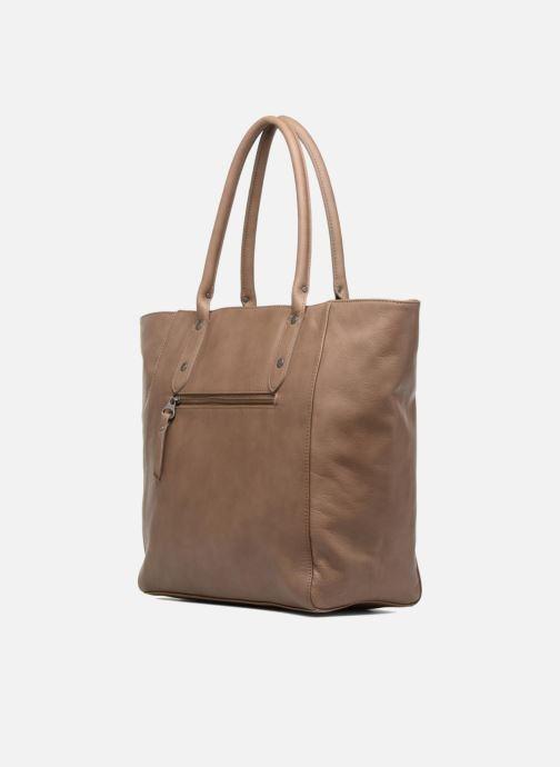 Handtaschen Sabrina Octavie braun ansicht von rechts