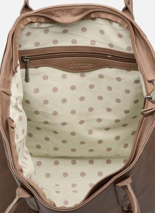 Handbags Sabrina Octavie Brown back view