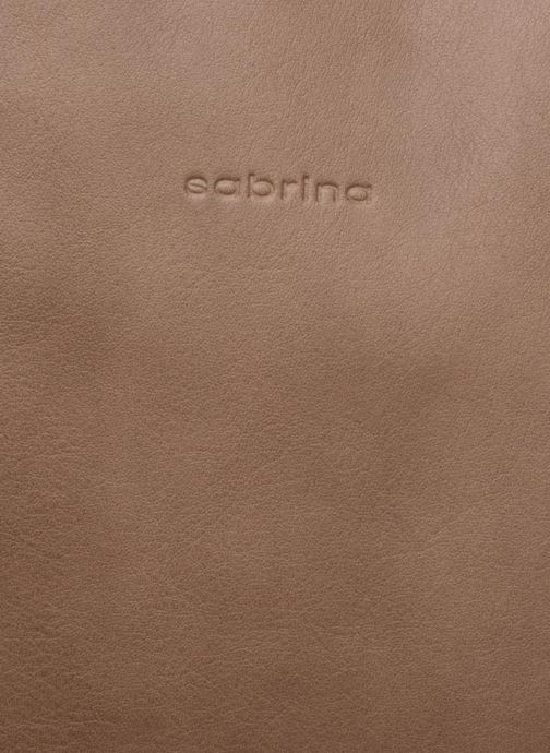 Handbags Sabrina Octavie Brown view from the left