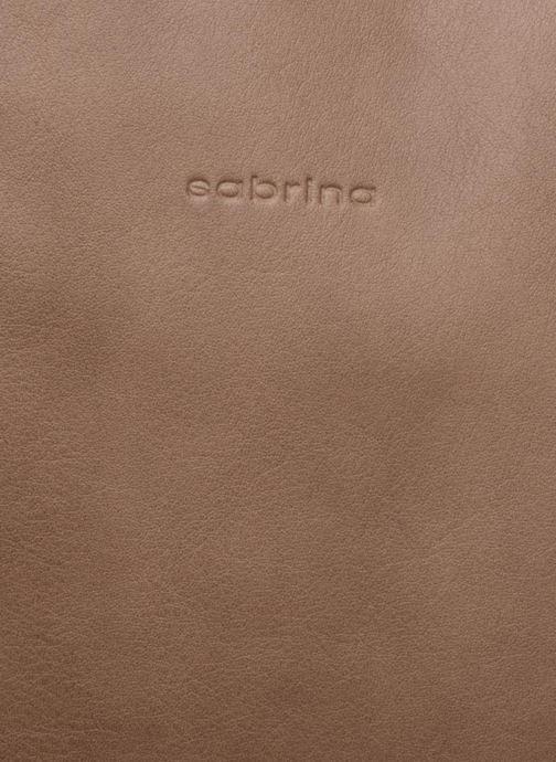 Handtaschen Sabrina Octavie braun ansicht von links