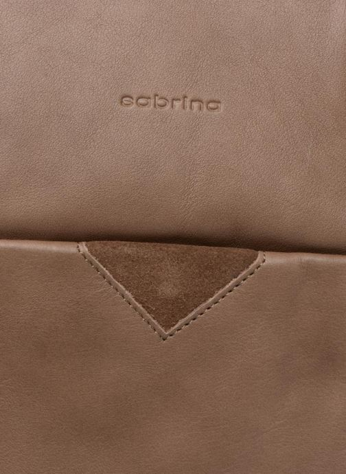 Bolsos de mano Sabrina Ondine Marrón vista lateral izquierda
