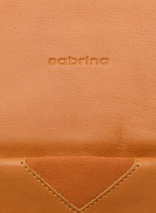 Bolsos de mano Sabrina Ondine Amarillo vista lateral izquierda