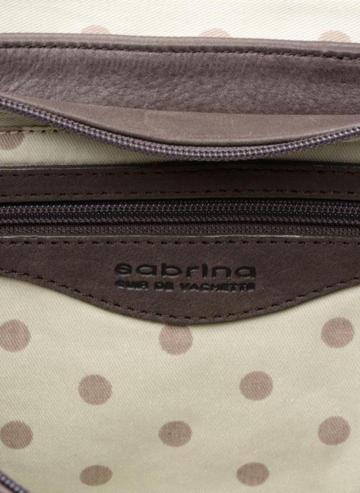 Handtaschen Sabrina Valérie grau ansicht von hinten