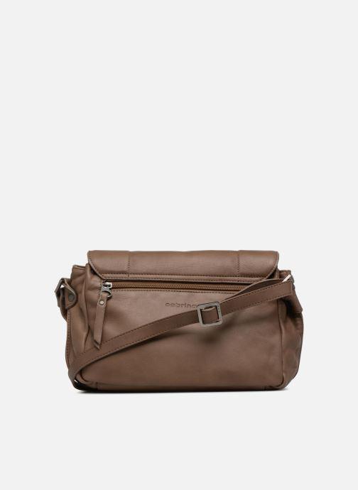 Handtaschen Sabrina Valérie braun ansicht von vorne