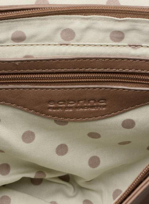 Handtaschen Sabrina Valérie braun ansicht von hinten