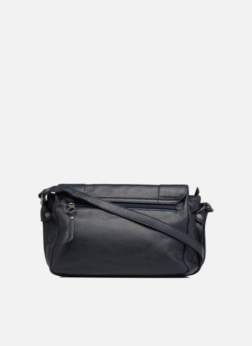 Handtaschen Sabrina Valérie blau ansicht von vorne