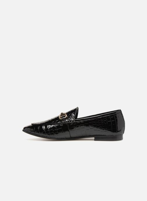 Mocasines Dune London Guilt Negro vista de frente
