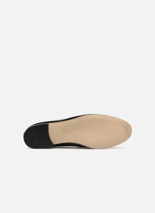 Loafers Dune London Guilt Black view from above