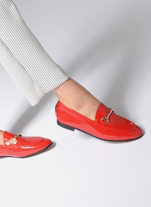 Loafers Dune London Guilt Red view from underneath / model view