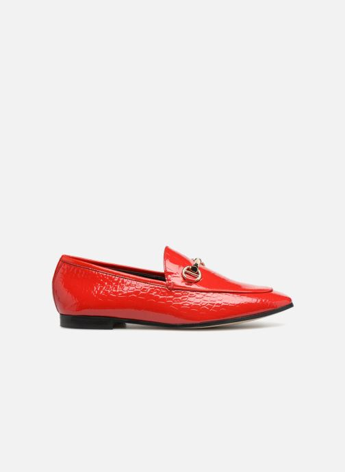 Mocassins Dune London Guilt Rouge vue derrière